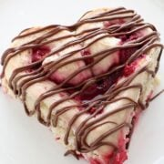 Made in 1 hour and this ADORABLE?! Def making these Heart Shaped Raspberry Rolls this Valentine's Day!