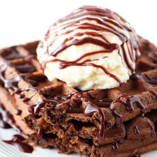 fudge waffles handle the heat