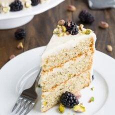 3-Layer Pistachio Cake