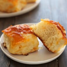 Cheddar Potato Rolls