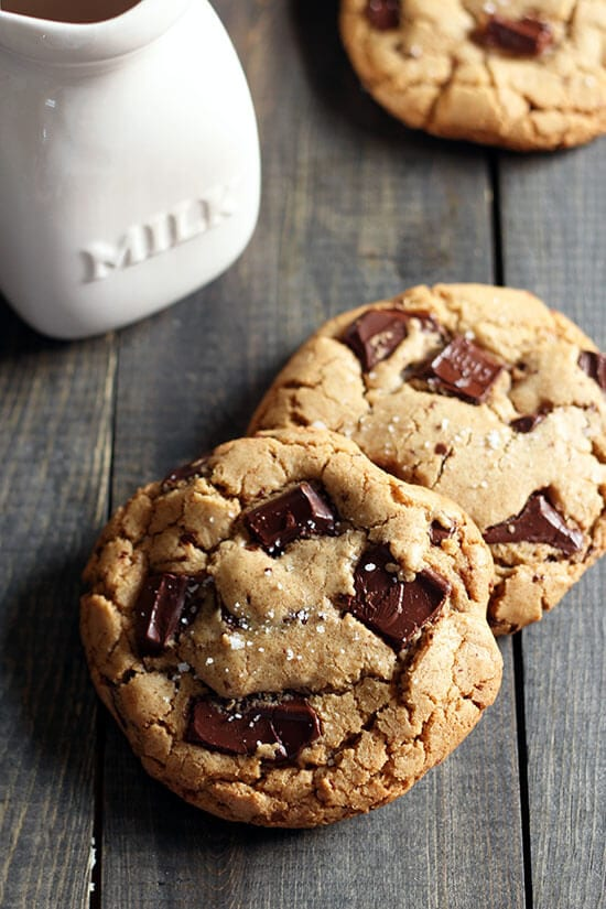 Chewy Chocolate Peanut Butter Chip Cookies Recipe