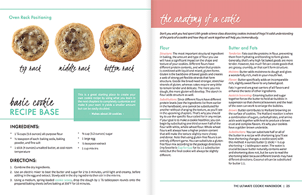 The Ultimate Cookie Handbook Cookie 101