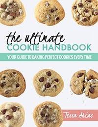 Ultimate Cookie Handbook Cover Mockup