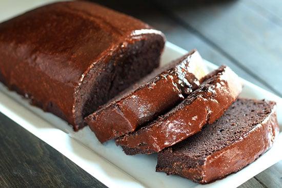 Decadent chocolate pound cake recipe!