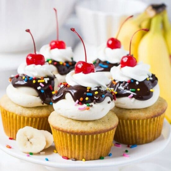 Ice Cream Cake Cupcakes Recipe