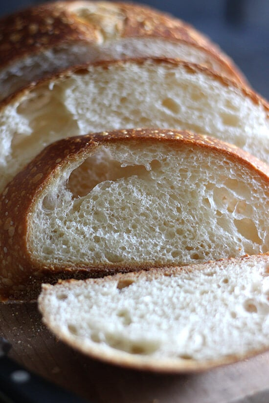 How to make sourdough bread right in your own kitchen! I've included a step-by-step video and every tip I could gather to help you make homemade sourdough!