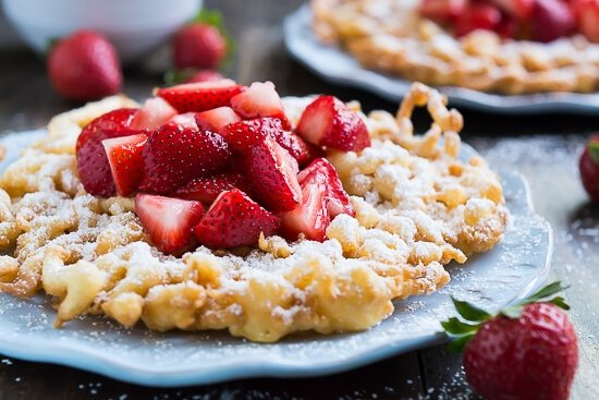 Homemade Funnel Cakes That Taste Just Like The Ones At Fair