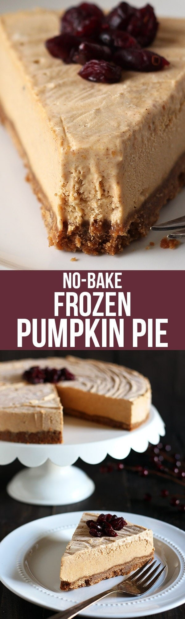Frozen Pumpkin Mousse Pie ...