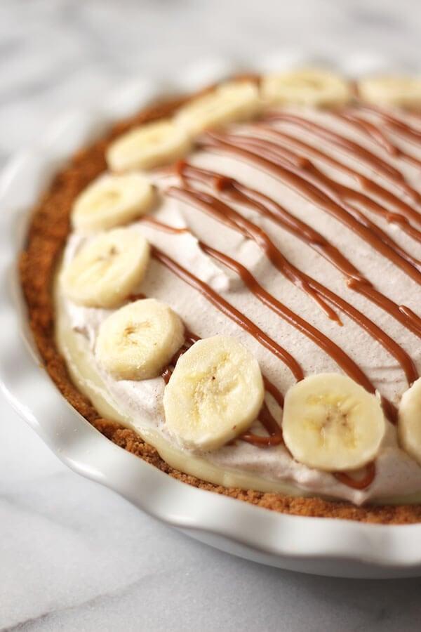 Banana Dulce de Leche Pie