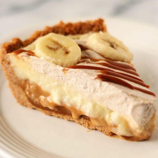 Banana And Caramel Cake