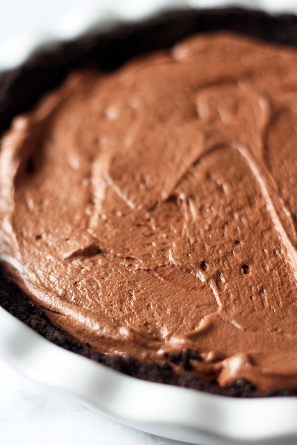 ... . This is pure decadence! Chocolate Peanut Butter Caramel Mousse Pie