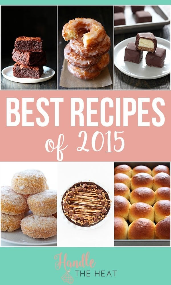 The BEST recipes of 2015 - some have been visited over a million times!