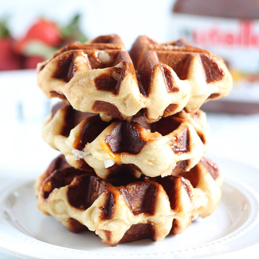 how to make belgian waffles with pancake mix