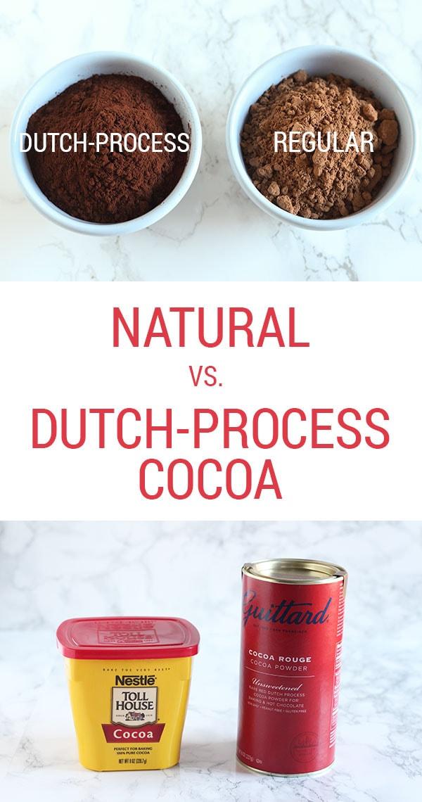 Cocoa Dutch Process Vs Natural