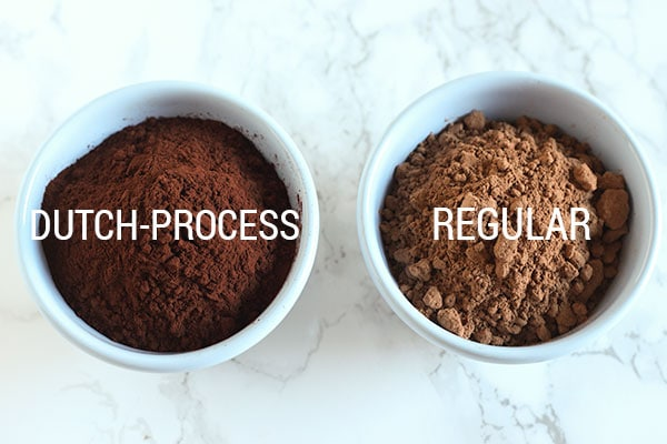 Natural Cocoa vs. Dutch Process Cocoa Powder