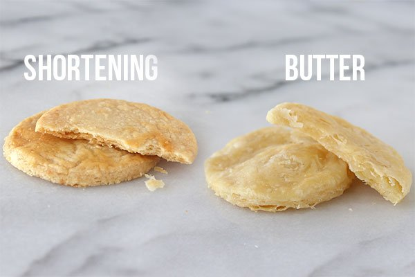 Butter vs Shortening in pie crust