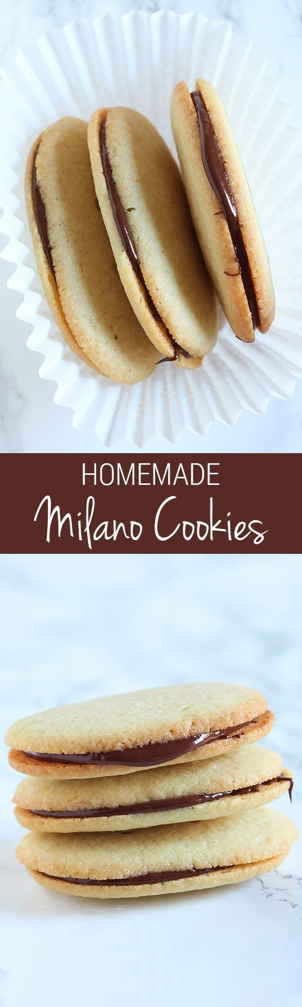 Impress your friends with these Homemade Milano Cookies! They're even better than store-bought and surprisingly simple to make. YUM.