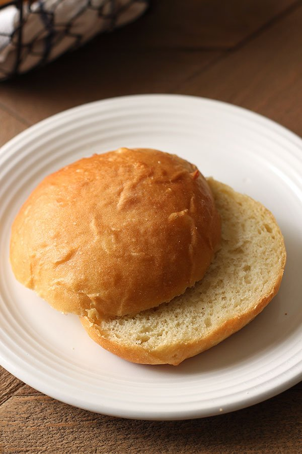 Super light, fluffy, yet sturdy homemade Potato Burger Buns are made with fresh potato and taste SO much better than store-bought.