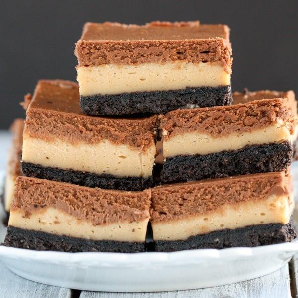 Peanut Butter Chocolate Cookie Bars Recipe