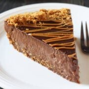 Cookie Butter Pudding Pie