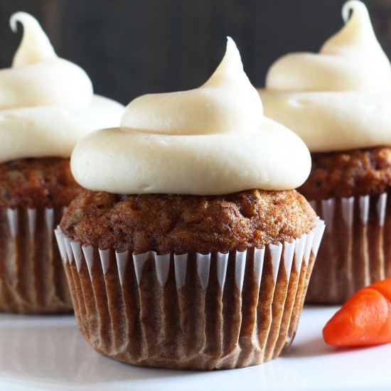 perfect carrot cake cupcakes