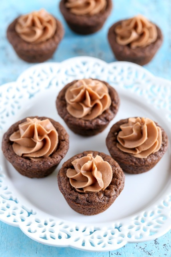 Chocolate Nutella Cookie Cups