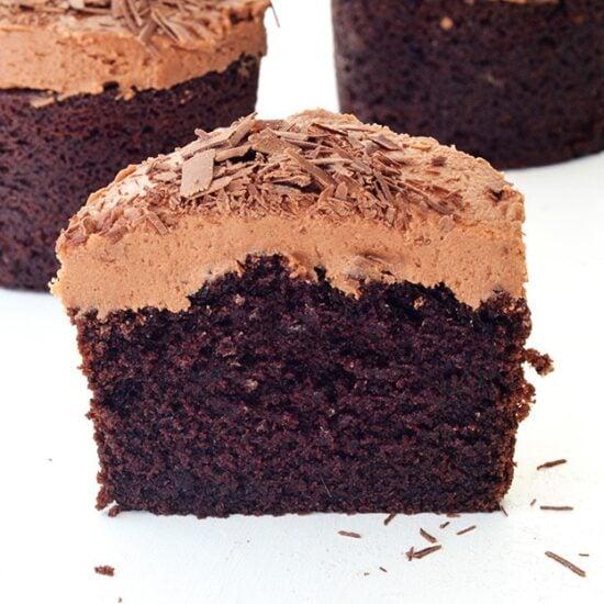 Chocolate cake sour cream cocoa