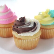 3 Ways to Make Swirled Cupcake Frosting