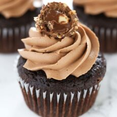 Ultimate Nutella Cupcakes