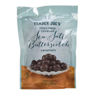 Chocolate Covered Sea Salt Butterscotch Caramels