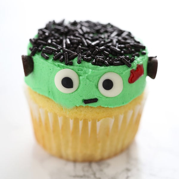 How to Make Frankenstein Cupcakes for Halloween