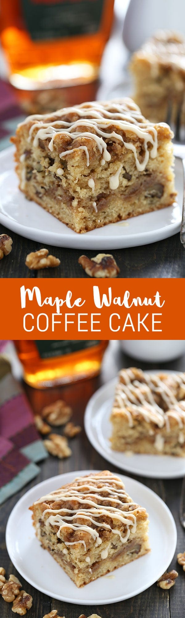 We LOVED this coffee cake! Super quick & easy to make, no mixer required!