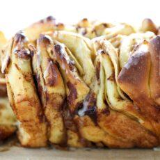 Apple Pie Pull Apart Loaf