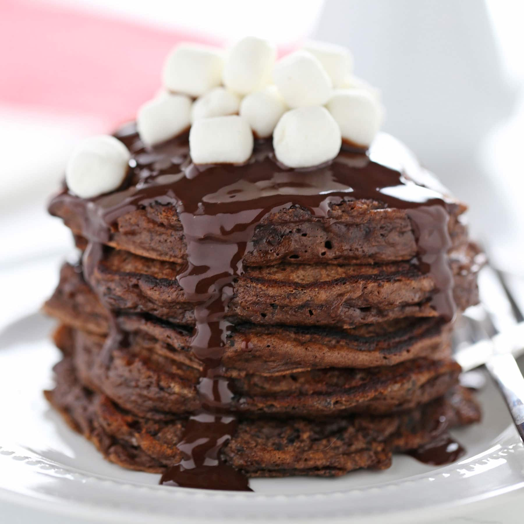 Hot Chocolate Pancakes Handle The Heat