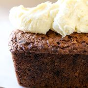 Carrot Walnut Loaf with Cream Cheese Frosting - Handle the ...