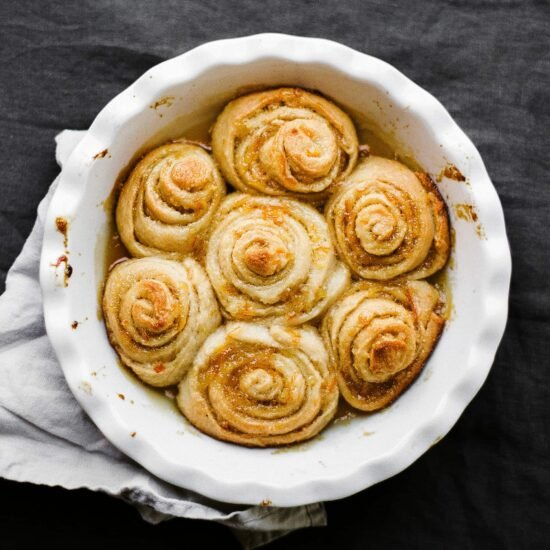 Fresh and flavorful Orange Sweet Rolls take just one hour to make and are perfect for Mother's Day, or any special breakfast or brunch!