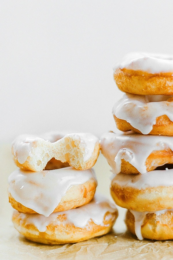 These are the BEST glazed doughnuts ever! Better than Krispy Kreme and easier to make than I thought!