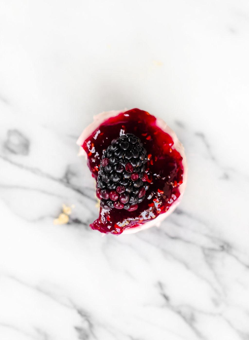 No Bake Mini Blackberry Cheesecakes 13