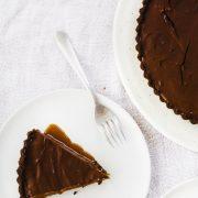 Nutella Caramel Tart 01