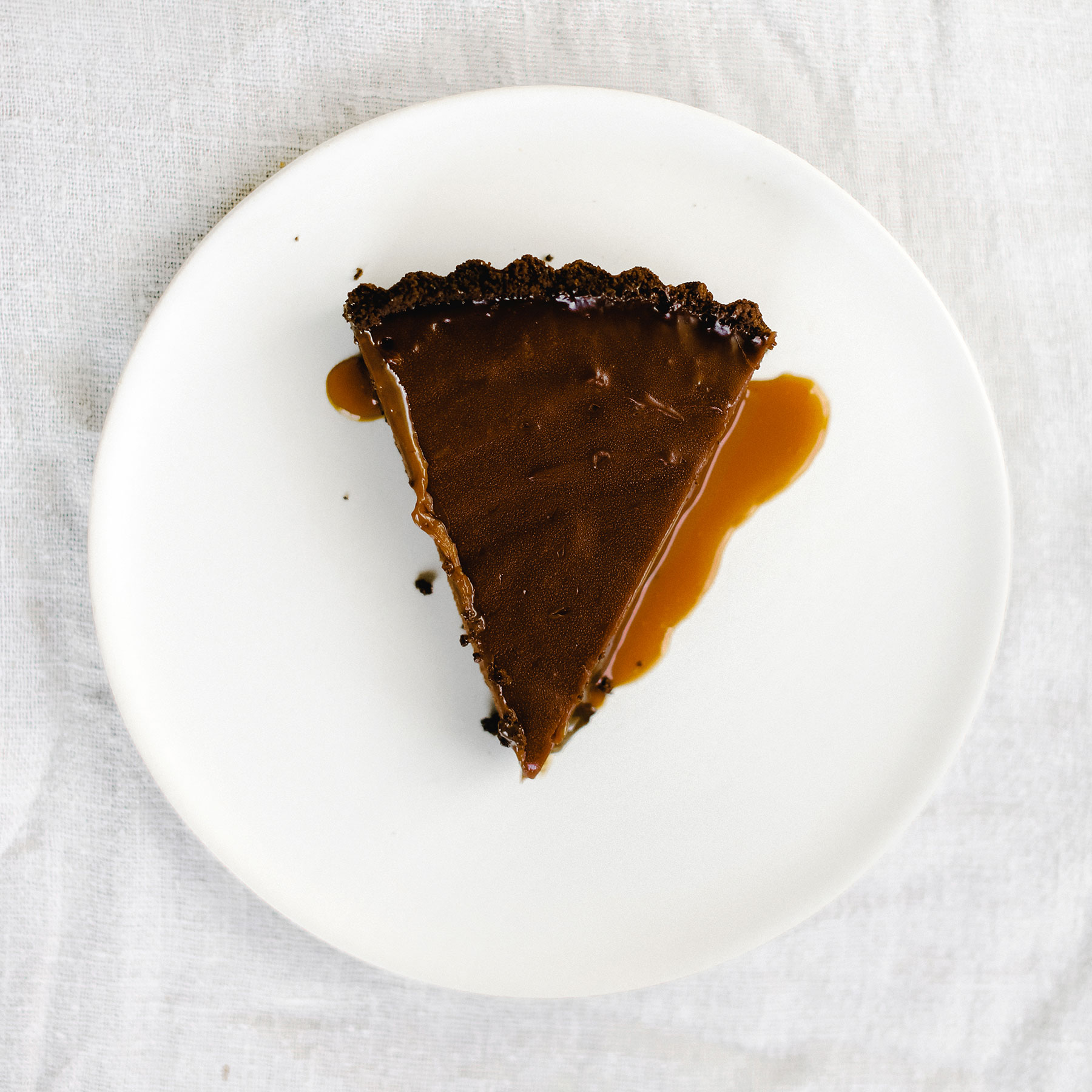 Nutella Caramel Tart Handle The Heat