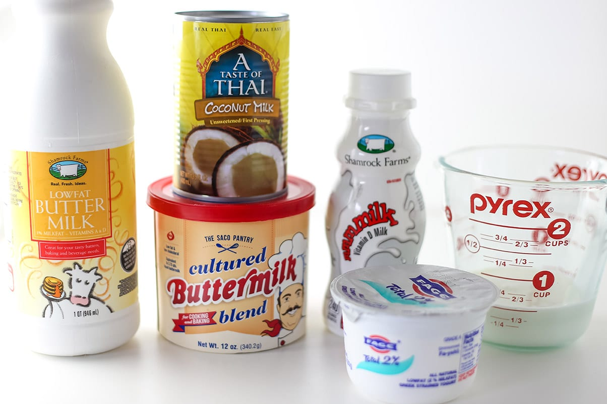 Testing and comparing buttermilk substitutions in baking