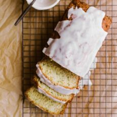 Lemon Yogurt Zucchini Bread