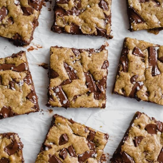 Gooey Chocolate Chunk Blondie Recipe