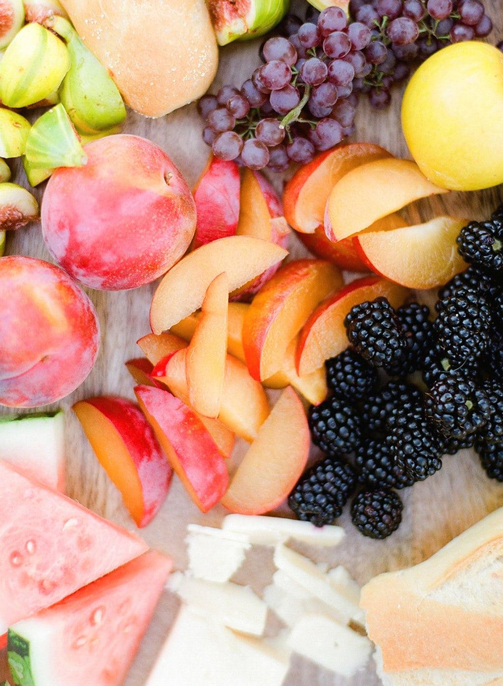 Fresh fruit for a summer BBQ