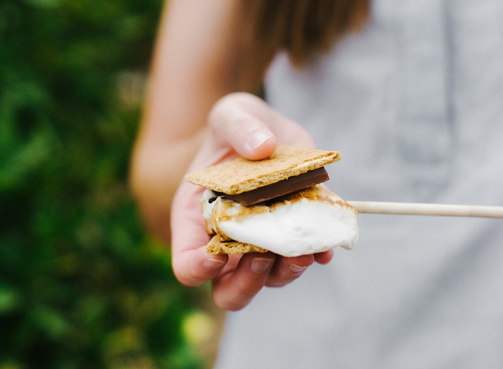 Perfect summer s'mores