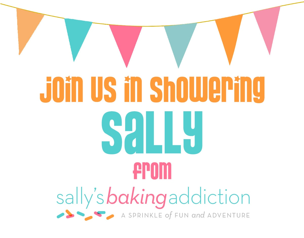 Sally's Baking Addiction Baby Shower
