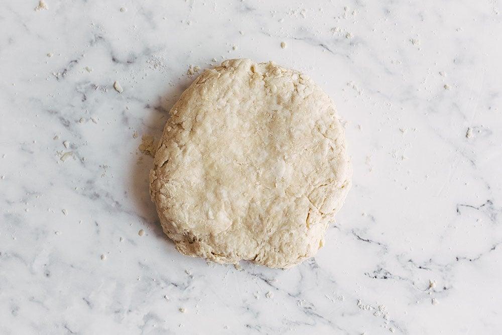 disk of pie dough