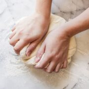 How to knead yeast dough for beautiful bread