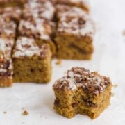 Pumpkin Spice Coffee Cake - the ultimate fall treat!