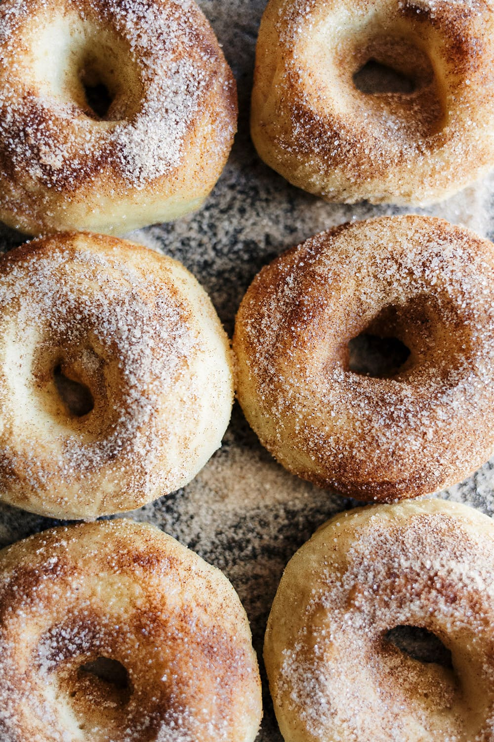 Baked Apple Pie Donut Recipe made with apple cider and warm spices